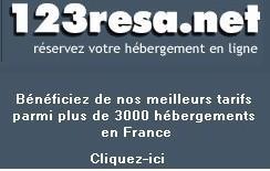 CHAMBRE D HôTES : Réservation d_hôtels - réserver un hôtel en France sur 123resa.net - tourisme régional