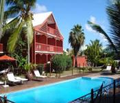 hotel le palm court, saint-martin